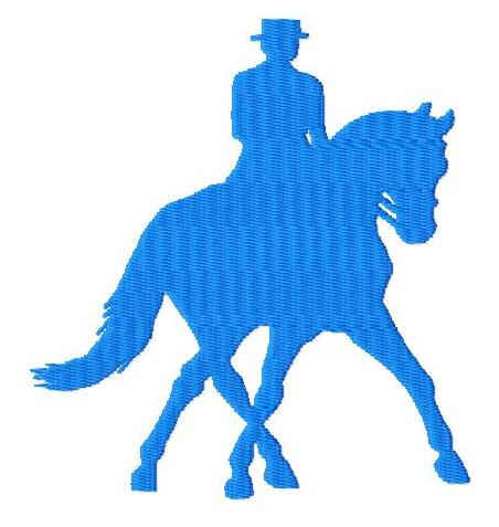 Design Dressage Sew Equestrian Horse and