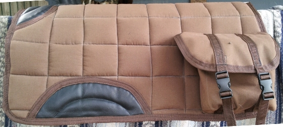 Western Saddle pad with Pockets